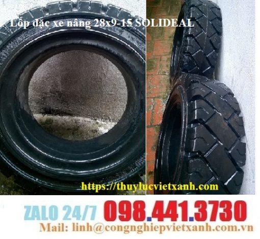 Lốp đặc xe nâng 28x9-15 SOLIDEAL