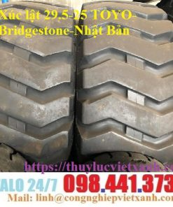 Vỏ xe Xúc lật 29.5-25 TOYO Bridgestone Nhật Bản