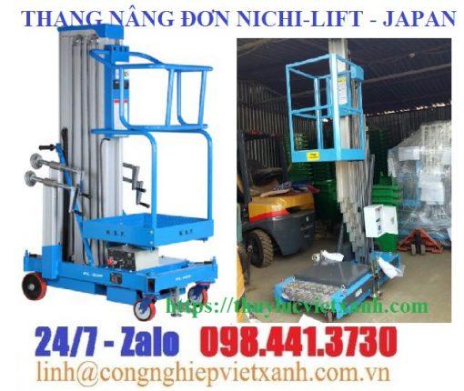 Thang nâng đơn Nichi-lift Japan
