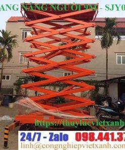 Thang nâng người 9m ziczac SJY0.3-9