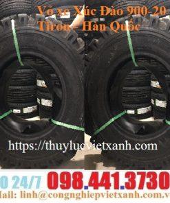 Vỏ xe Xúc Đào 900-20 Tiron - Hàn Quốc