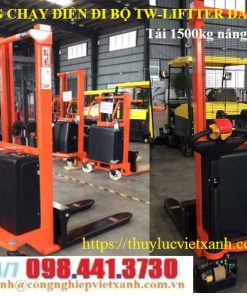Xe nâng bán tự động (1t - 2 tấn)