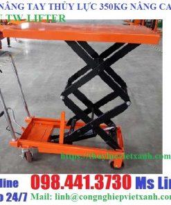 Bàn nâng tay thủy lực 350kg cao 1m5 hiệu TW-LIFTER Đài Loan