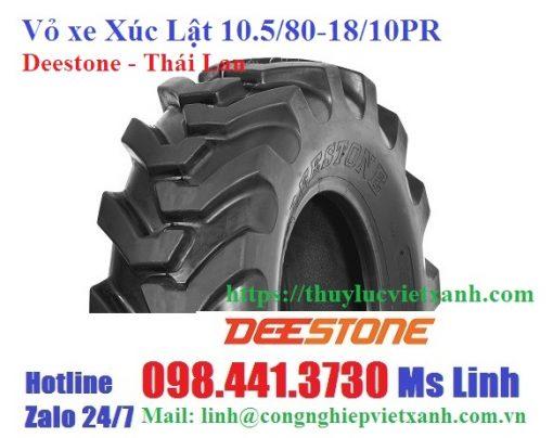 Vỏ xe xúc lật-Deestone - Thái Lan 10.5-80-18-10PR