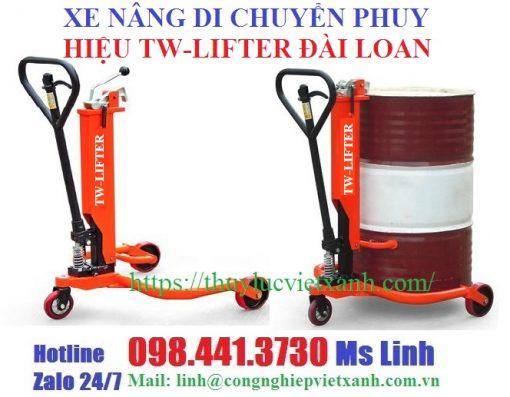Xe nâng di chuyển phuy tw-lifter Đài Loan