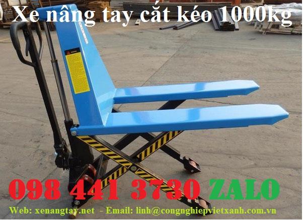 xe nâng tay cắt kéo, xe nâng tay chữ x 1000kg, xe nâng tay bặc thang, xe nâng cắt kéo 1000kg..